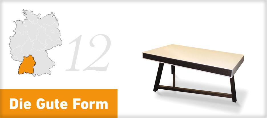Die Gute Form 2013 – Fabien Lienin, Baden
