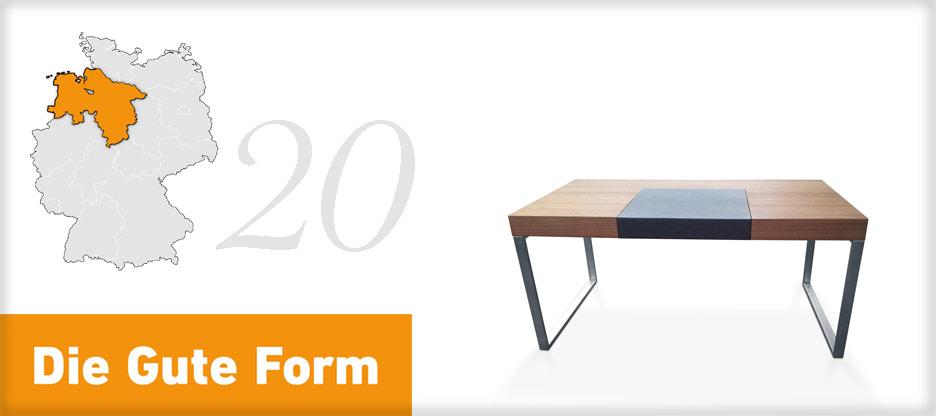 Die Gute Form 2013 – Manfred Schwietert, Niedersachsen