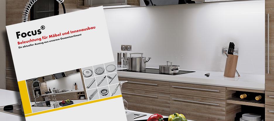 Der neue Focus «Beleuchtung für Möbel und Innenausbau»