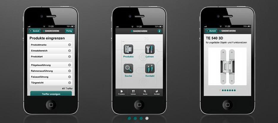 Simonswerk Produktselektor – Das neue Produktinformationssystem für Verarbeiter, Planer und Architekten
