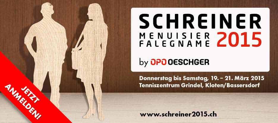 MESSE SCHREINER 2015 – Holen Sie sich Ihr Ticket!