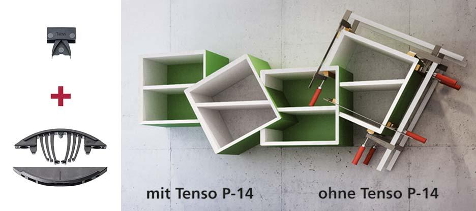 Leistet weniger Widerstand: Tenso P-14-Verbinder