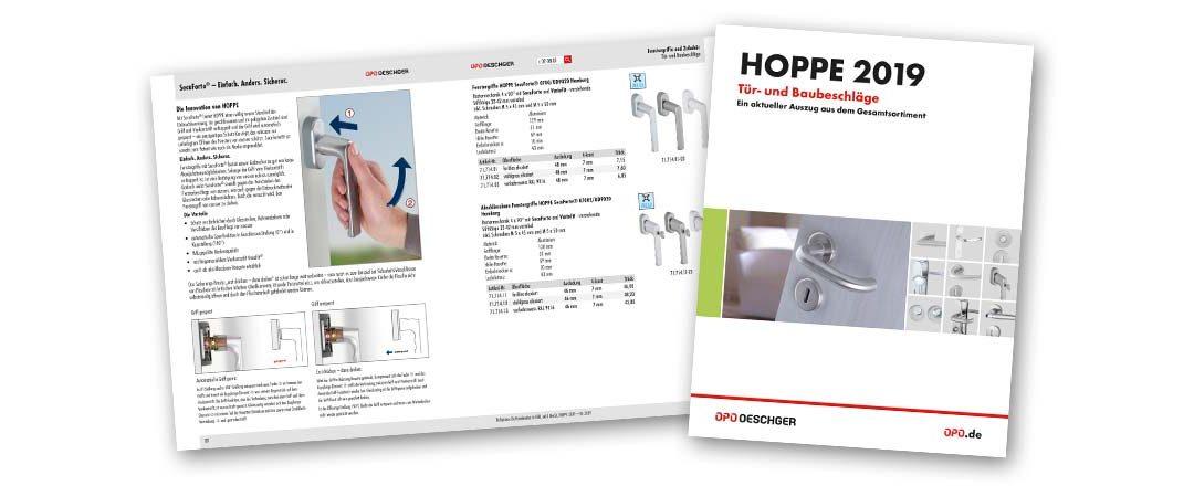 Die neue HOPPE Broschüre 2019 ist da