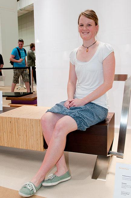 Johanna Uhland gewinnt den Sonderpreis Beschlag