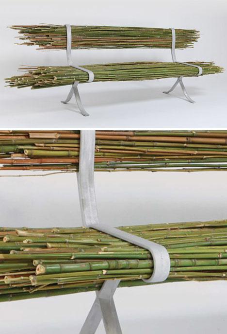 Bamboo Bench von Gal Ben Arav (Quelle: www.design345.com)