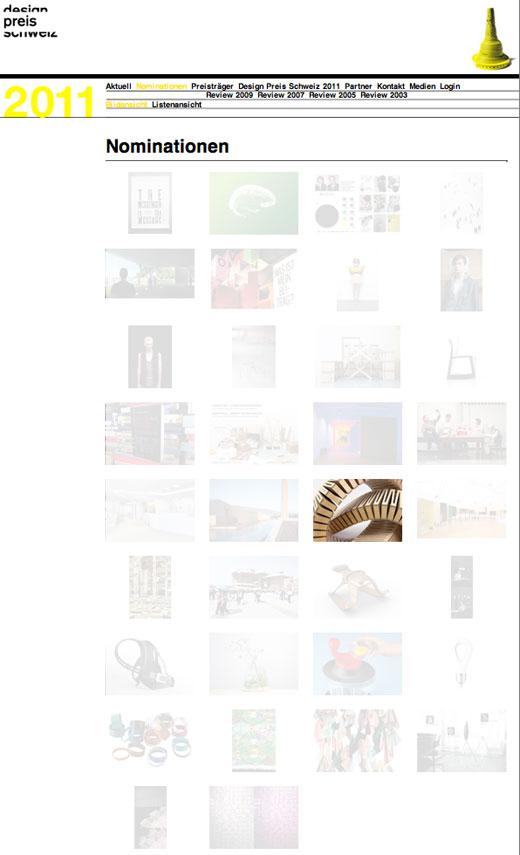 Neben dukta sind 33 weitere Projekte nominiert