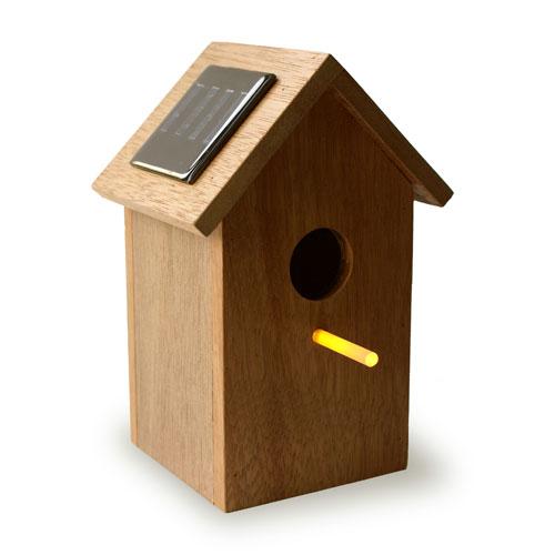 Solar-Vogelhaus von http://oooms.nl