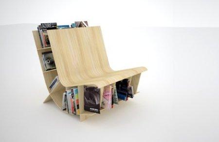 Wer sagt denn, Bücher gehören ins Bücherregal, Deckel an Deckel?