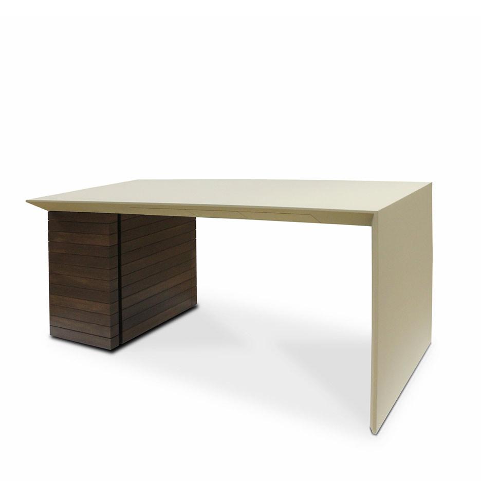 Schreibtisch von Johannes Mayer