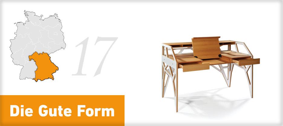 Die Gute Form 2013 – Alexander Roser, Bayern