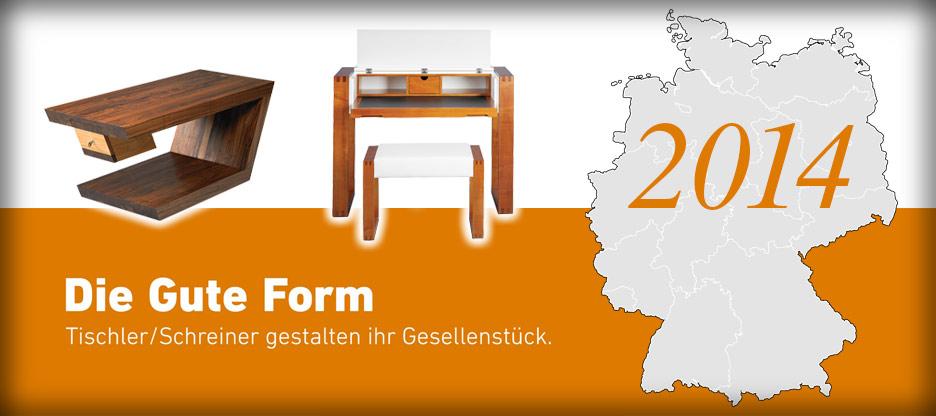 Nominationen des Landesverbandes Hessen für Die Gute Form 2014