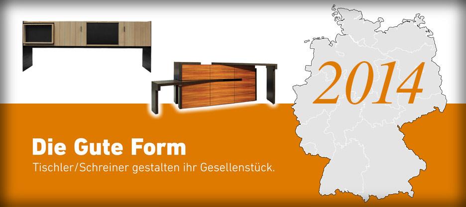 Nominationen des Landesverbandes Niedersachsen-Bremen für Die Gute Form 2014