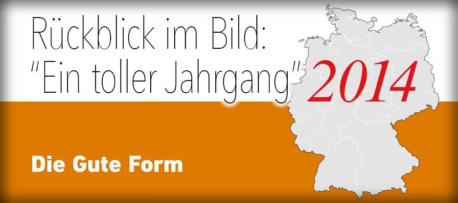 Bewegter Rückblick – Die Gute Form 2014