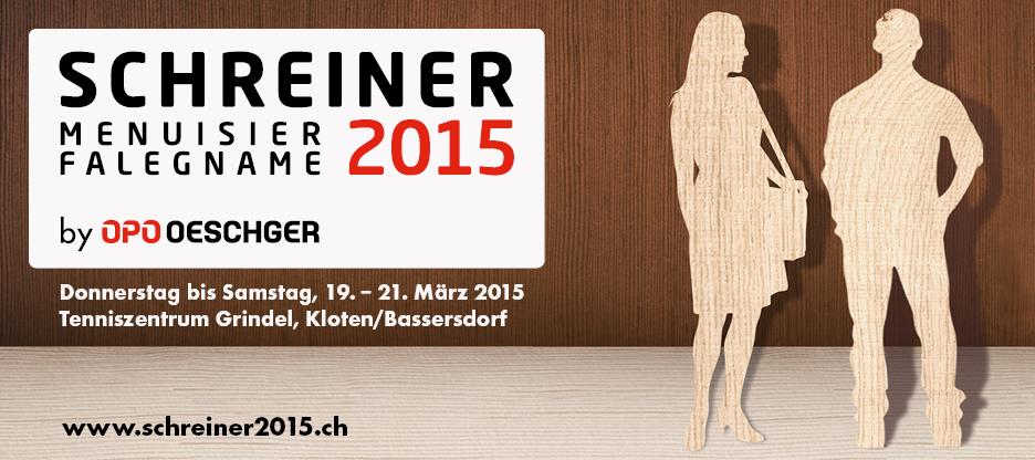 SCHREINER 2015 – Das Messeereignis!