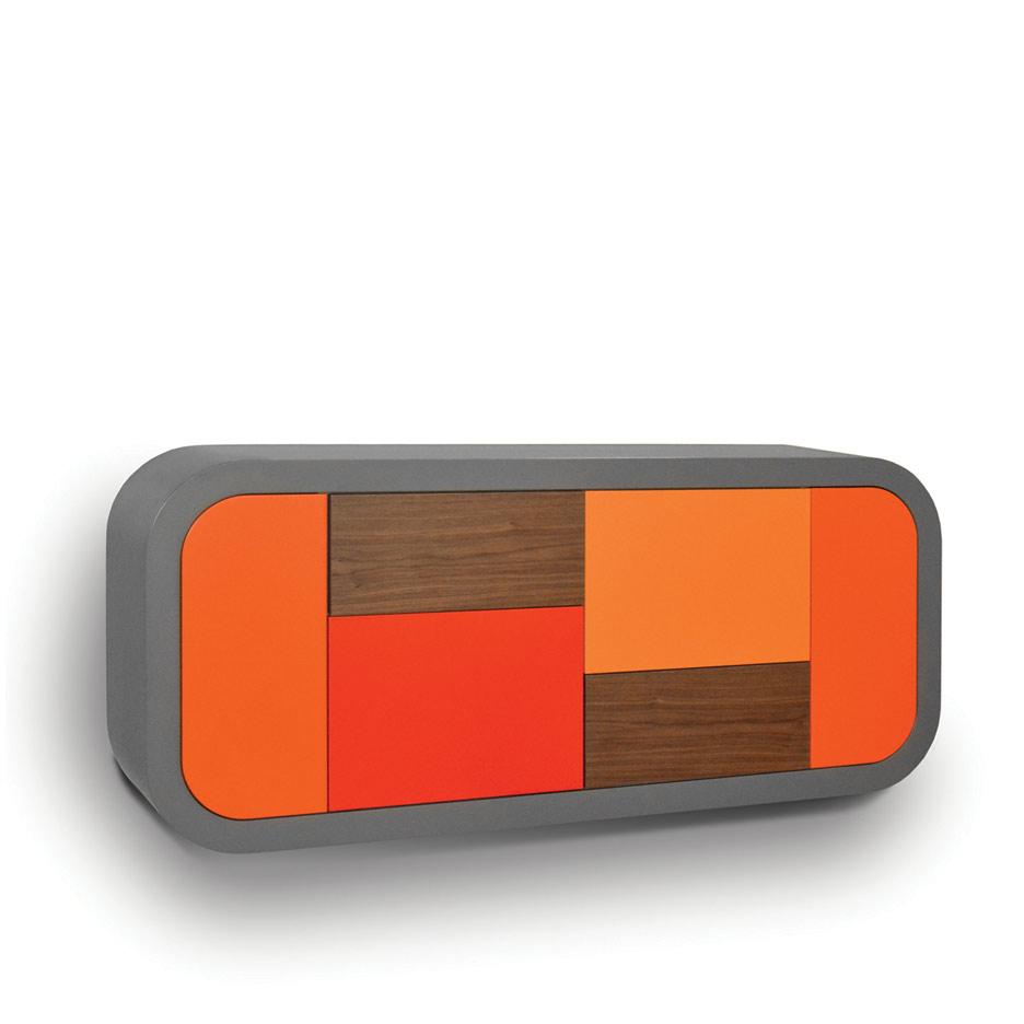 Hängendes Sideboard von Luis Küchenmeister
