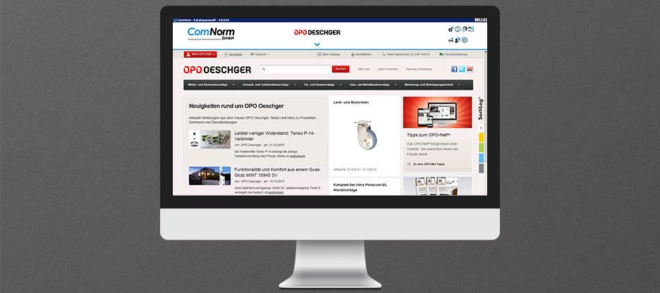 OPO Oeschger als erster Beschläge-Lieferant in der neuen ComNorm 4, mit Vollbildansicht