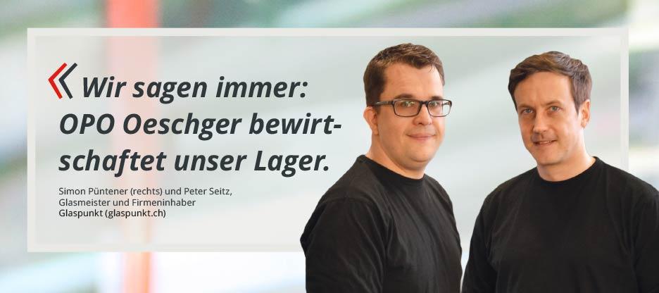 OPO-Kunden im Mittelpunkt – glaspunkt GmbH