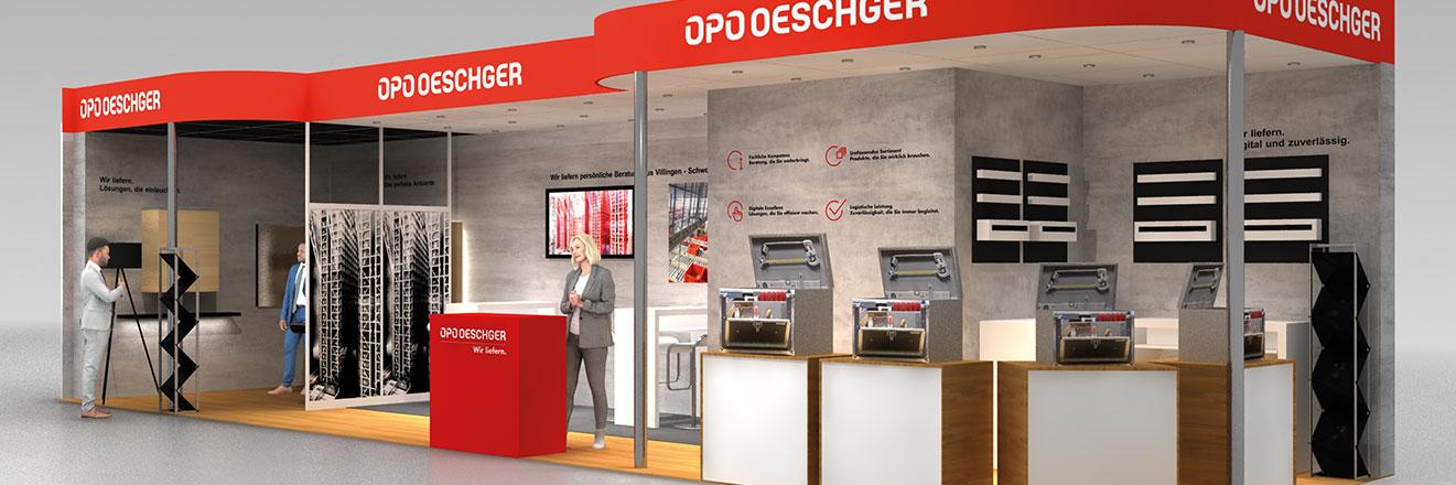OPO Oeschger an der HOLZ-Handwerk in Nürnberg