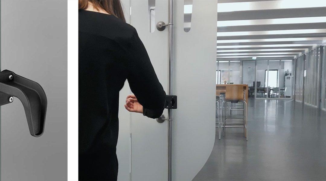 Neuer FSB Stossgriffaufsatz: Die Lösung für handfreies Öffnen von Türen