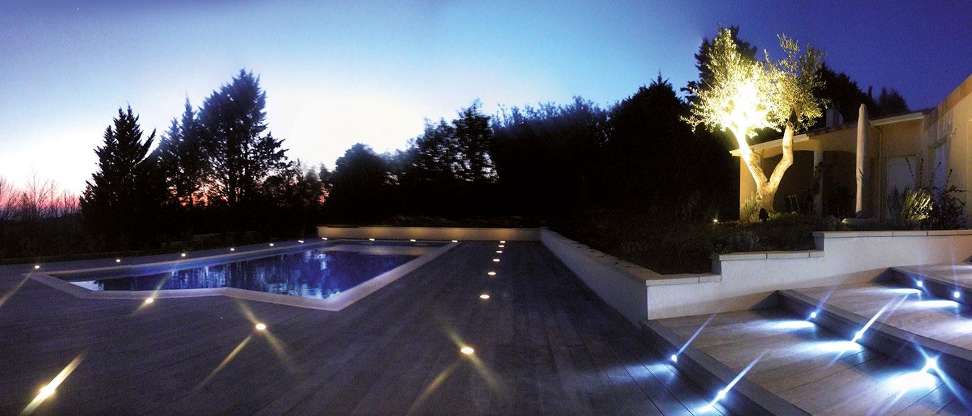 Beleuchtung für Terrassen - Aussenbeleuchtung