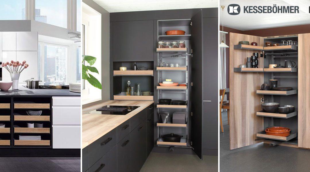 Individualität und Komfort vereint mit Produkten von KESSEBÖHMER / PEKA