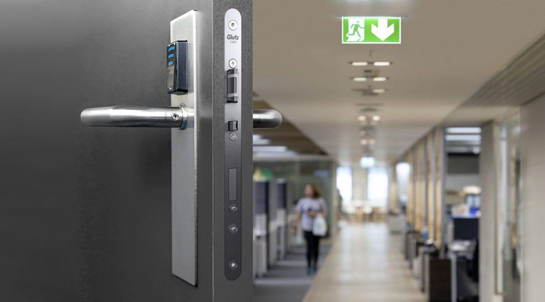 Serrature d'infilare antipanico GLUTZ: la nuova famiglia di serrature d'infilare con dimensioni svizzere.